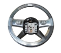 Steering Wheel - Chrome